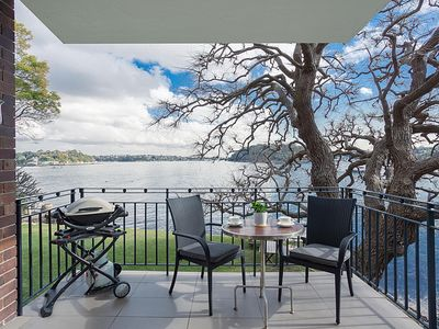 Photo for Serene and stylish harbourside apartment