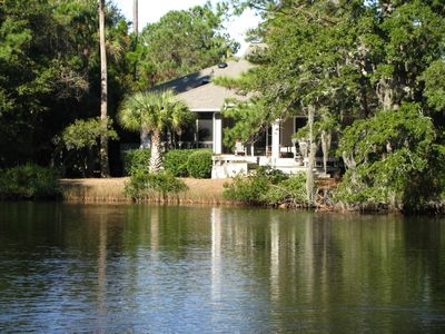 Photo for 3BR Peaceful, Kiawah, Lagoon View Home, Wifi, Comfortable and Welcoming