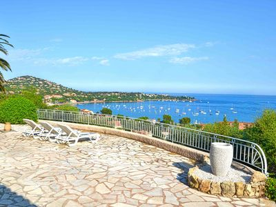 Photo for Villa rental, exceptional view of the Mediterranean