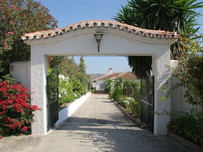 Photo for Comfortable villa with private pool, BBQ and nice gardens for 6 people sleeping