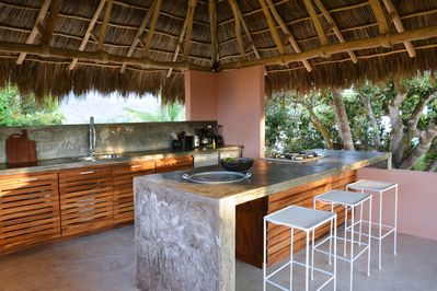 Casita Mimas kitchen