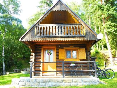 Photo for Holiday house at the forest with lake view