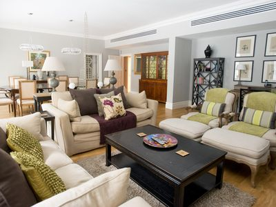 Photo for Luxury Ground Floor Spacious Three Bed Apartment With Terrace