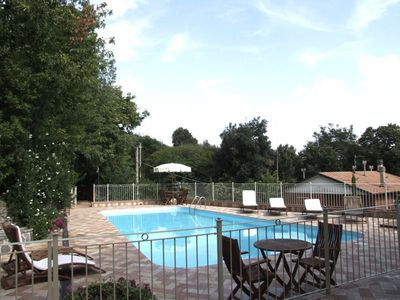 Photo for Three Bedroom Detached Holiday Home Castagneto Carducci Tuscany Coast   Villa Castore is a detached house