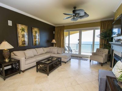 Photo for Beachfront Condo! Beach Service Included! Stunning Beach Views from Private Balcony.