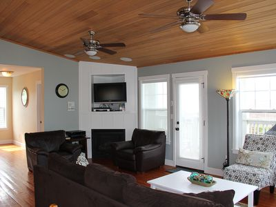 Photo for Across Street from Beach, Amazing Ocean Views, Roads End, Hot Tub & Game Room