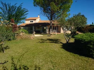 Photo for Villa of 134m2, with pool and garden of 1300m2