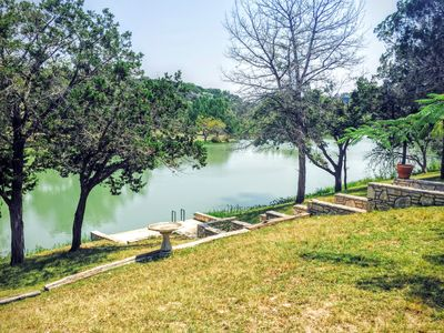 Photo for Beautiful Riverfront Property on the Guadalupe River