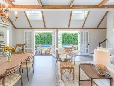 Photo for Just Renovated Sag Harbor Village 4 Bedroom With Pool + Jeep with Beach Pass!
