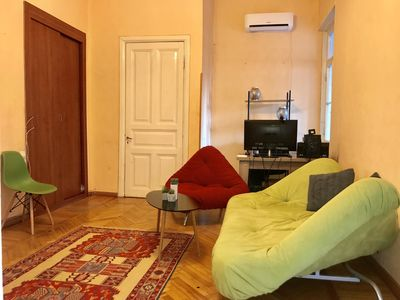 Photo for 2 Bedroom Modern, Cozy Flat in Old Tbilisi!