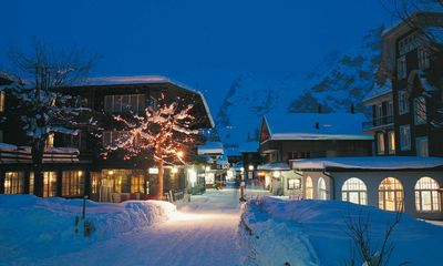 Photo for In idyllic Mürren -  panoramic alpine view, balcony, garden, sleeps 3 & baby