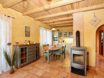 Photo for Holiday house in Ostseebad Göhren with fireplace, dogs are welcome