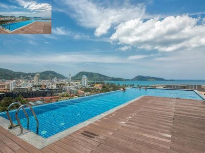 Photo for ✈Sea-view 80sqm-1 Bedroom Home-Patong Beach