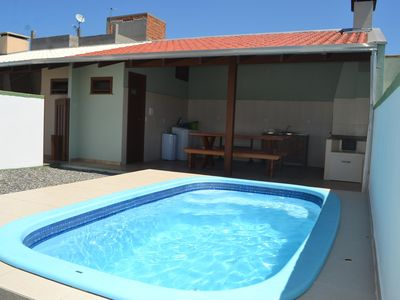 Photo for SOBRADO twinned BETWEEN BEAUTIFUL BEACHES, MARISCAL AND LARGE CORNER, POOL, AIR COND!