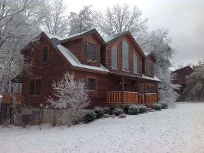 Photo for SPACIOUS CABIN IN GATED RESORT TWO MILES FROM FALL CREEK FALLS STATE PARK