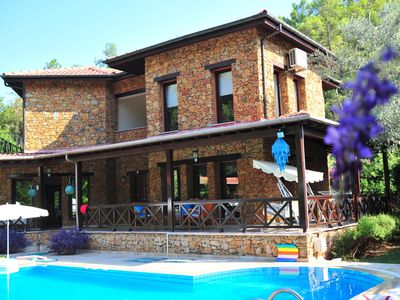Photo for Detached Villa with Pool, private garden %100 privacy