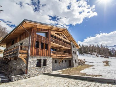 Photo for Luxury Chalet close to La Rosiere
