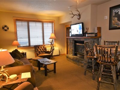 Photo for Skier`s Paradise!   Ski-in/Ski-out Condo in the village of Whitefish Mountain Resort
