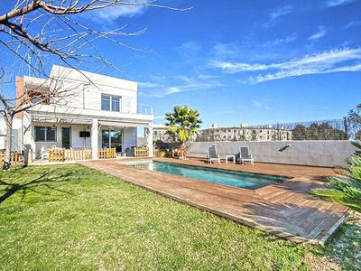 Photo for Villa with pool in Porreres, Mallorca. ETV3574