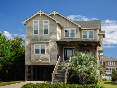 Photo for Jockeys Ridge 385: Short walk to the beach, private pool and hot tub, 2 jetted tubs!