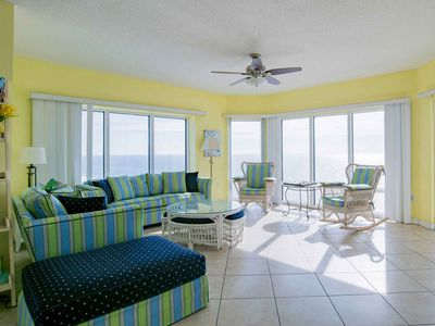 Photo for Gulf Front Condo At Emerald Isle ~ Impeccable Views ~ Beachfront Pool & More!