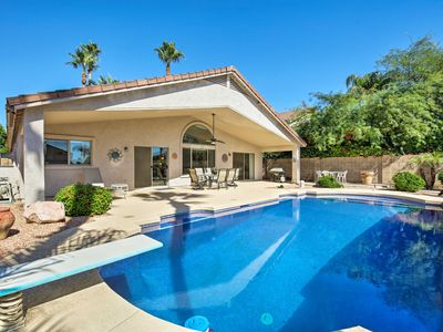 Photo for Phoenix Home w/Private Pool, Diving Board & Grill!
