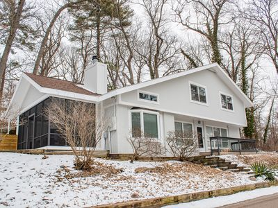 Photo for Well kept house only 1/2 mile to Lake Michigan beach, golf cart, hot tub on site
