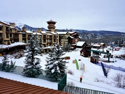 Photo for ***Luxurious Slopeside End Unit, with 2 Decks Ski In/ Ski Out Awesome Views ***