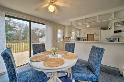 This 3-bedroom, 1-bath home is ideal for groups of up to 8.
