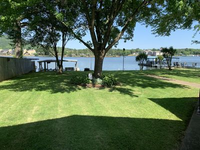 Lakefront property on Lake Hamilton