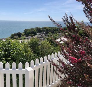 Photo for UNIQUE COTTAGE SITTING ABOVE VENTNOR WITH STUNNING SEA VIEWS