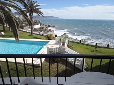 Photo for Pretty apartment with sea views, 2 bedrooms