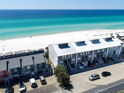 Photo for Newly renovated town home that sits directly on the beach!