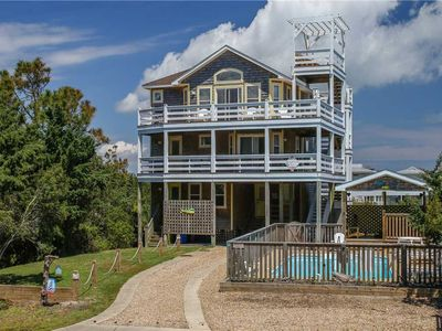Photo for Hatteras Time OCEANVIEW in Waves w/Pool&HotTub, RecRoom, Pets