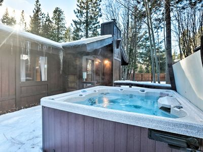 Photo for NEW! Tahoe City Cabin w/Hot Tub-Near Squaw Valley!