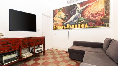 Photo for Arenula 2194 apartment in Centro Storico with air conditioning.