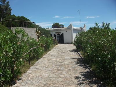 Photo for detached house with large terraces overlooking the sea near Baia Chia