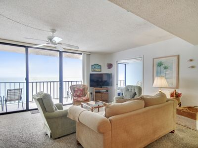Photo for Trillium #5B - Beach Front Condo with private balcony!