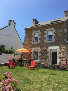 Photo for Rental of the port of Loguivy of fisherman house sea