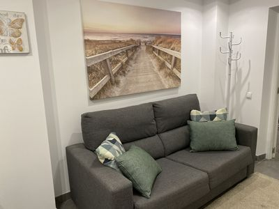 Photo for Comfortable apartment with modern design, with new renovation and furniture