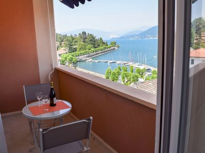 Photo for Porto Valtravaglia Apartment, Sleeps 4 with WiFi
