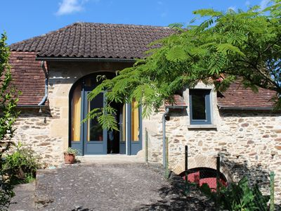 Photo for Cottage in the heart of the hamlet of Felzines with free WI FI