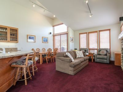 Photo for Mammoth Mountain Views, Private Garage, Pet-Friendly, Private BBQ on Big Deck