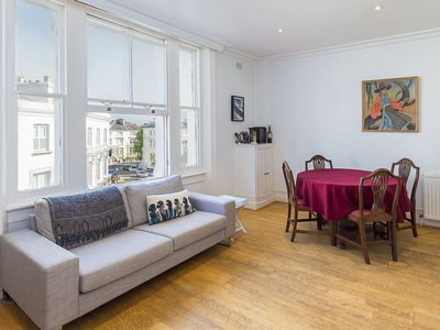 Photo for Simple and charming 2 bedroom flat near desirable Hampstead (Veeve)