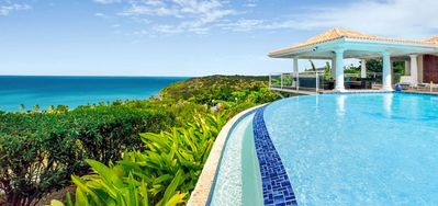 Villa Happy Bay  -  Beach View - Located in  Tropical Happy Bay with Private Pool
