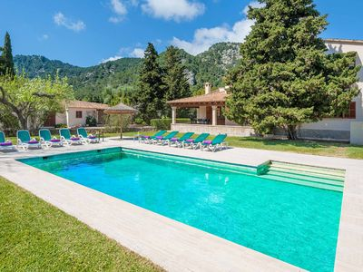 Photo for Can Curt - This Villa is close to local amenities has WI-FI a private pool & A/C
