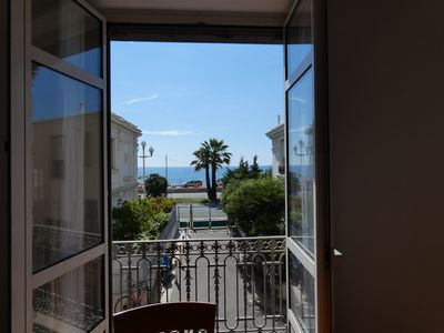 Photo for 2/3 bourgeois rooms Promenade des Anglais