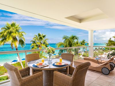 Photo for GORGEOUS GRACE BAY VIEWS AND BEST SNORKELLING-open July 7-16th