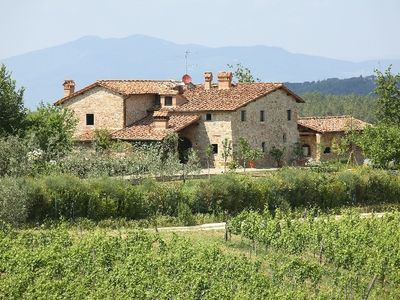 Photo for Holiday villa rental in Mercatale - Chianti - Tusdany - Mercatale vacation villa