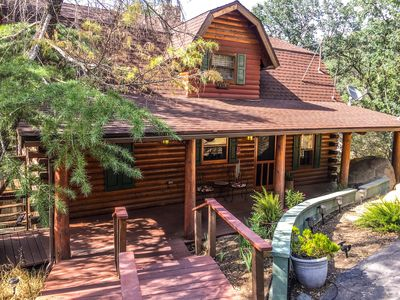 Photo for Storybook Log Cabin near Sequoia National Park